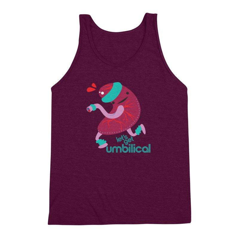 Placenta - Let's Get Umbilical Men's Triblend Tank by I Heart Guts