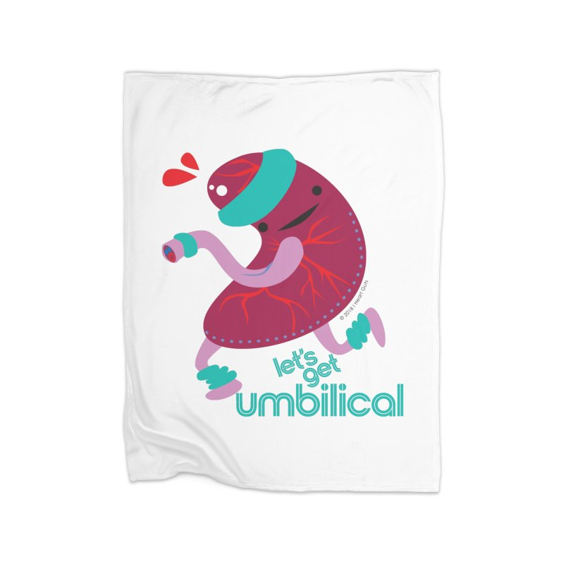 Placenta - Let's Get Umbilical Home Blanket by I Heart Guts