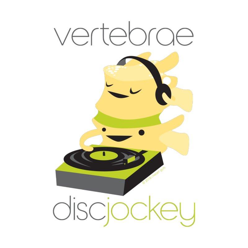 Vertebrae - Disc Jockey Women's V-Neck by I Heart Guts