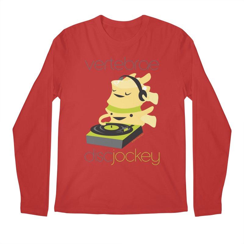 Vertebrae - Disc Jockey Men's Regular Longsleeve T-Shirt by I Heart Guts