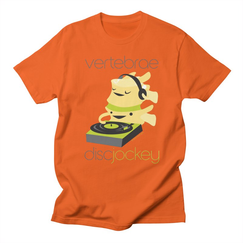 Vertebrae - Disc Jockey Women's Regular Unisex T-Shirt by I Heart Guts