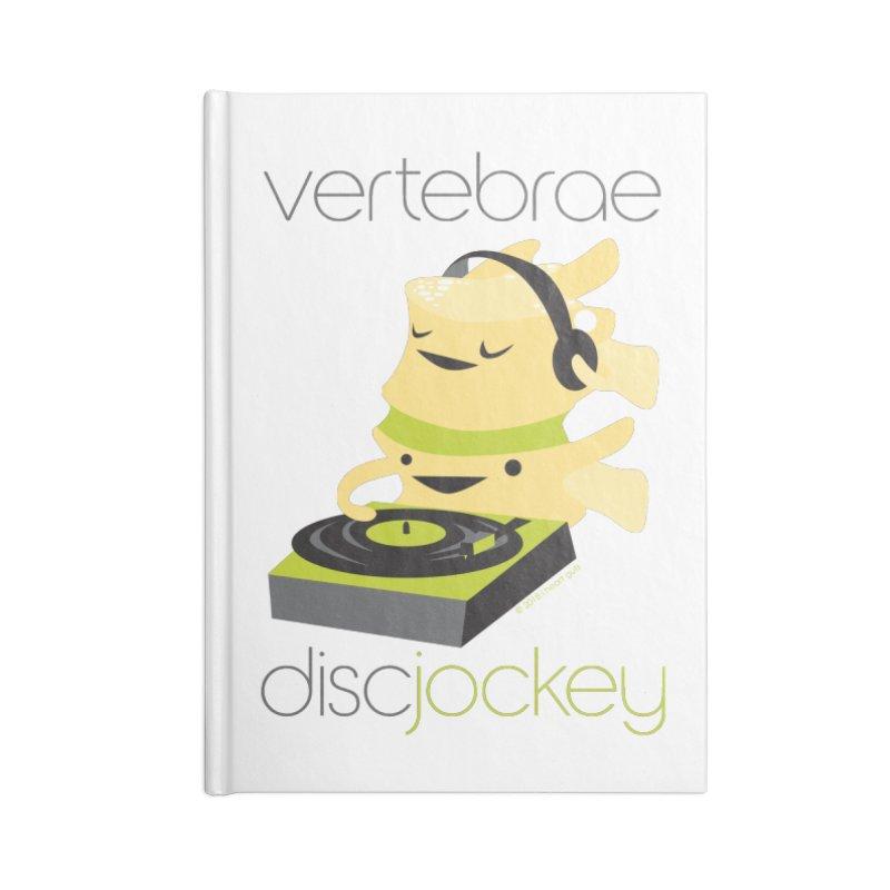 Vertebrae - Disc Jockey Accessories Notebook by I Heart Guts