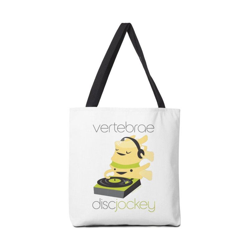 Vertebrae - Disc Jockey Accessories Bag by I Heart Guts