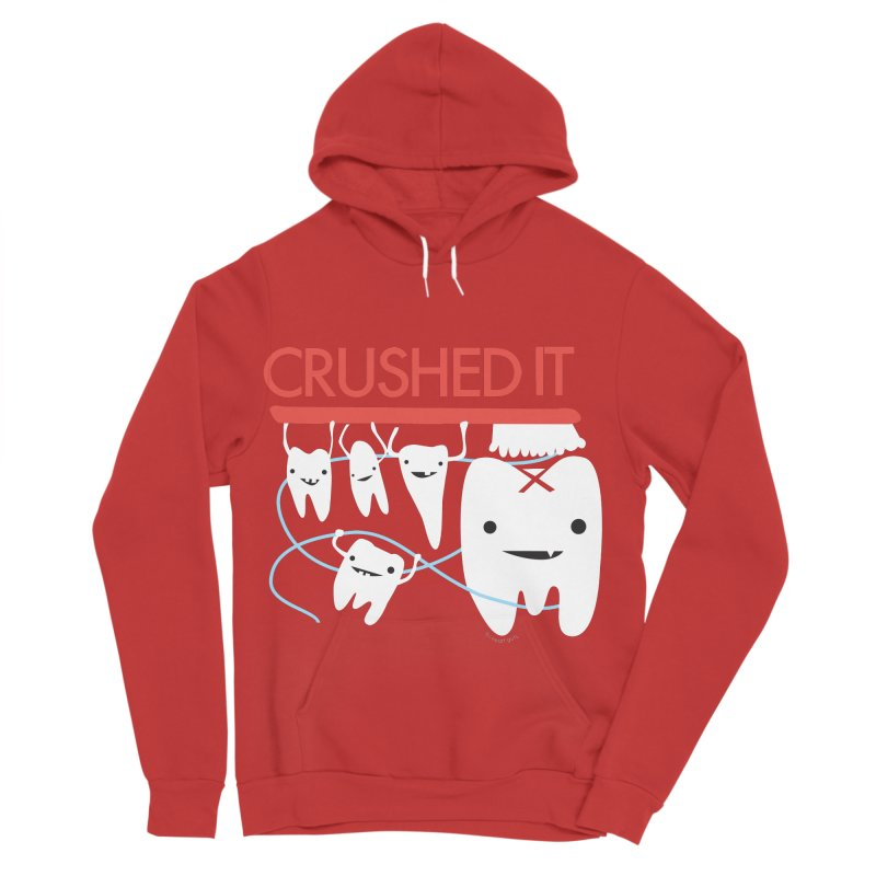 Teeth - Crushed It Women's Sponge Fleece Pullover Hoody by I Heart Guts