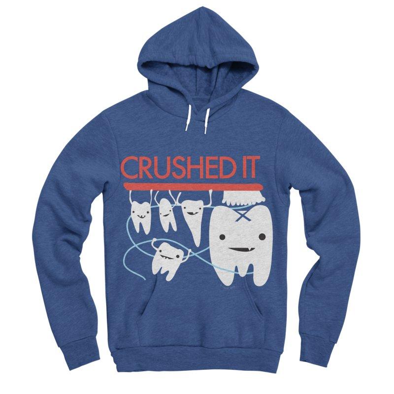 Teeth - Crushed It Women's Sponge Fleece Pullover Hoody by I Heart Guts