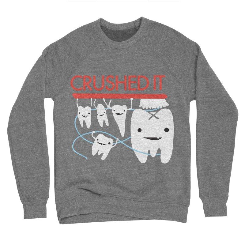 Teeth - Crushed It Men's Sponge Fleece Sweatshirt by I Heart Guts