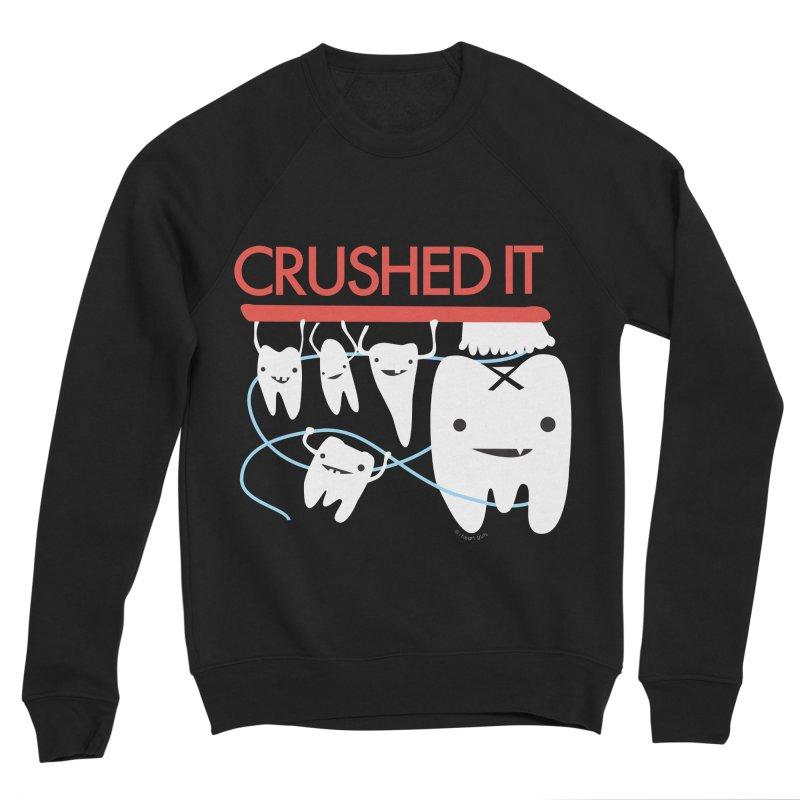Teeth - Crushed It Women's Sponge Fleece Sweatshirt by I Heart Guts
