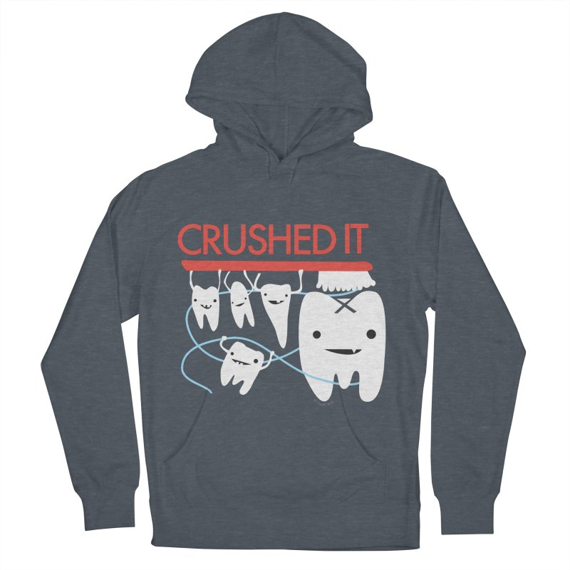 Teeth - Crushed It Women's French Terry Pullover Hoody by I Heart Guts