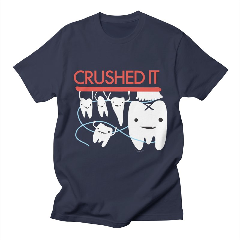 Teeth - Crushed It Women's Regular Unisex T-Shirt by I Heart Guts