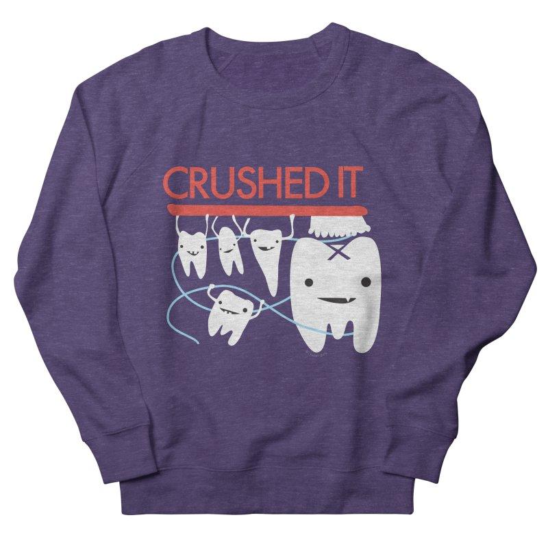 Teeth - Crushed It Women's French Terry Sweatshirt by I Heart Guts