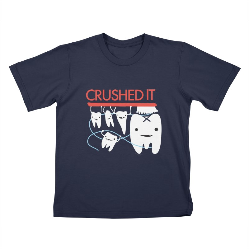 Teeth - Crushed It Kids Toddler T-Shirt by I Heart Guts
