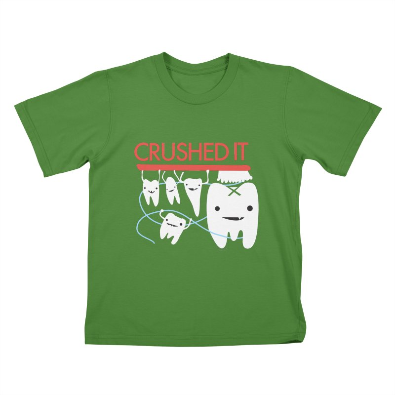 Teeth - Crushed It Kids T-Shirt by I Heart Guts