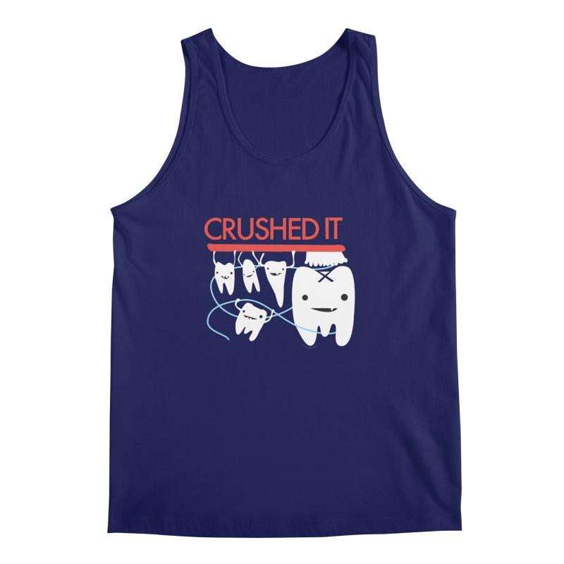Teeth - Crushed It Men's Regular Tank by I Heart Guts
