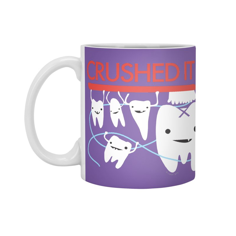 Teeth - Crushed It Accessories Mug by I Heart Guts