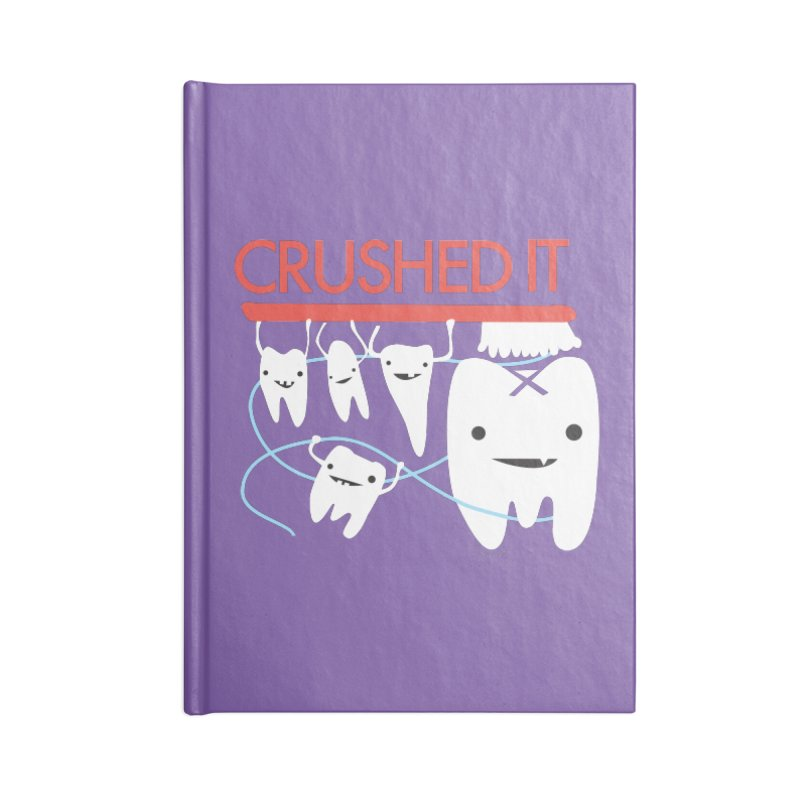 Teeth - Crushed It Accessories Notebook by I Heart Guts