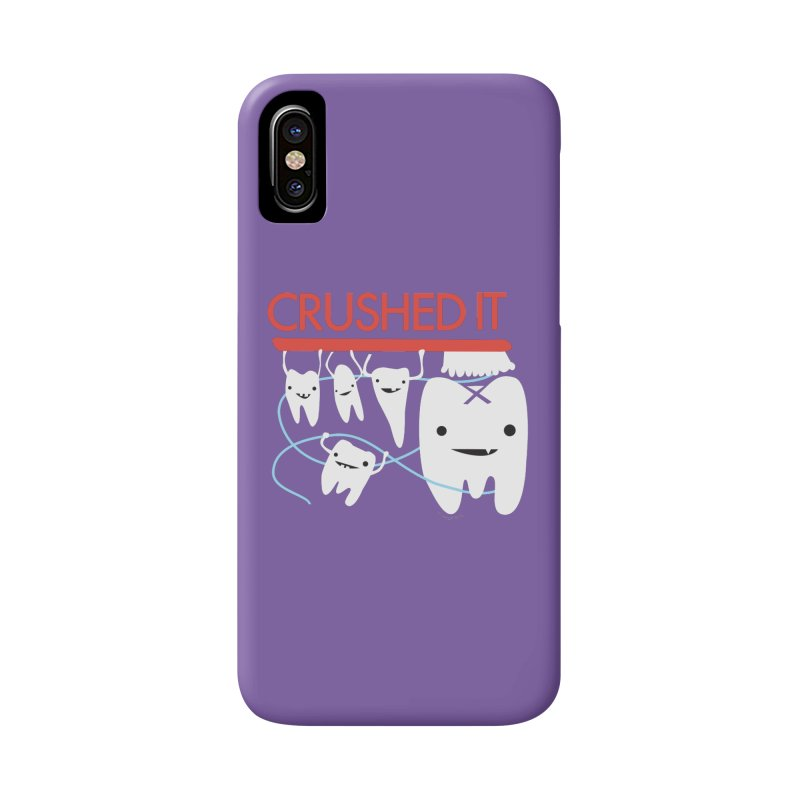 Teeth - Crushed It Accessories Phone Case by I Heart Guts