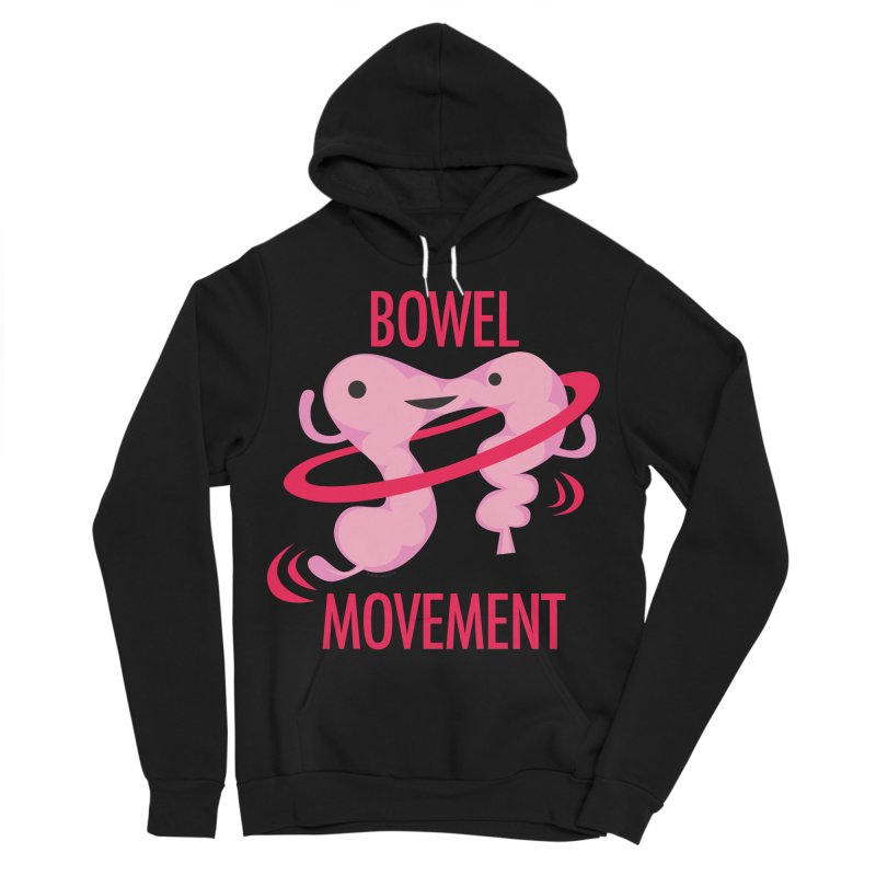Bowel Movement Men's Sponge Fleece Pullover Hoody by I Heart Guts