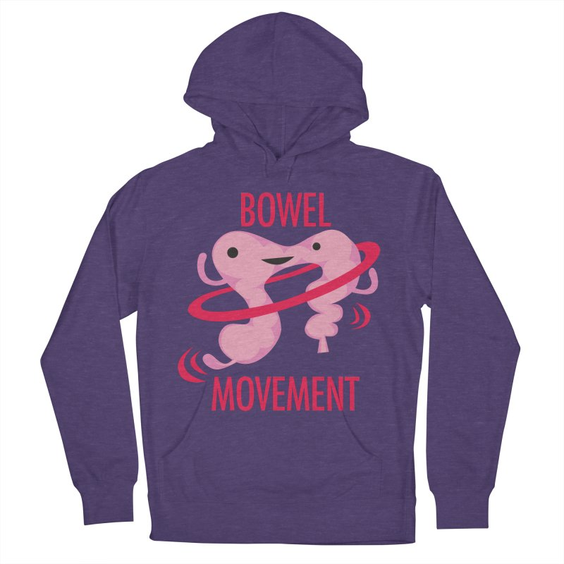 Bowel Movement Men's French Terry Pullover Hoody by I Heart Guts