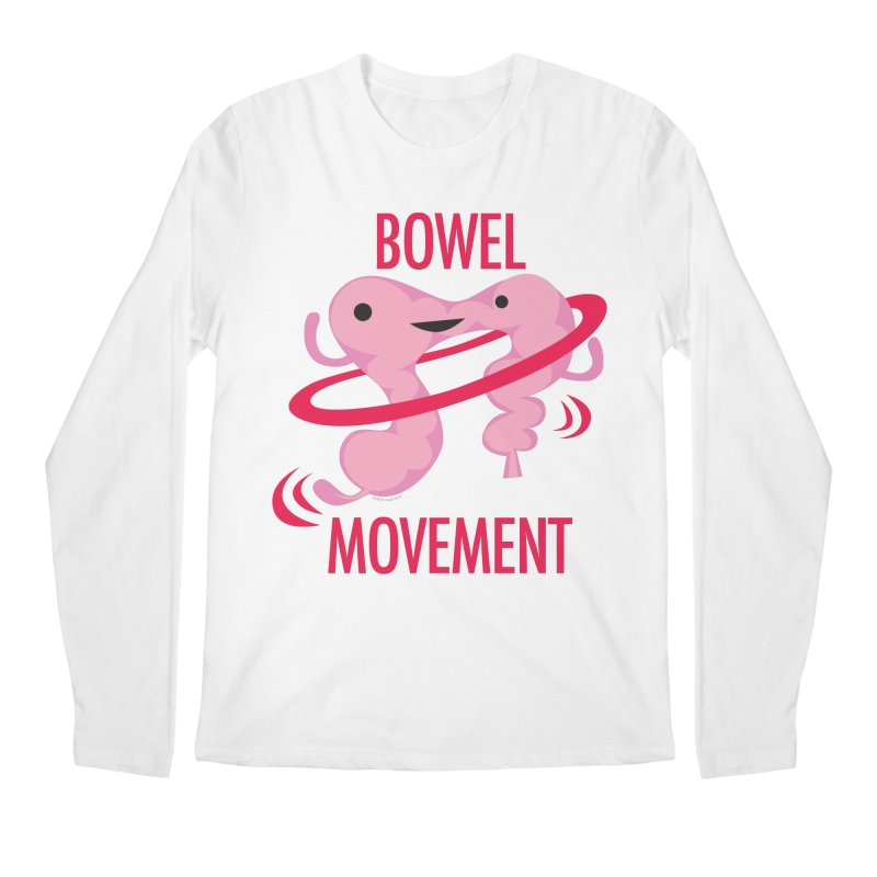 Bowel Movement Men's Regular Longsleeve T-Shirt by I Heart Guts