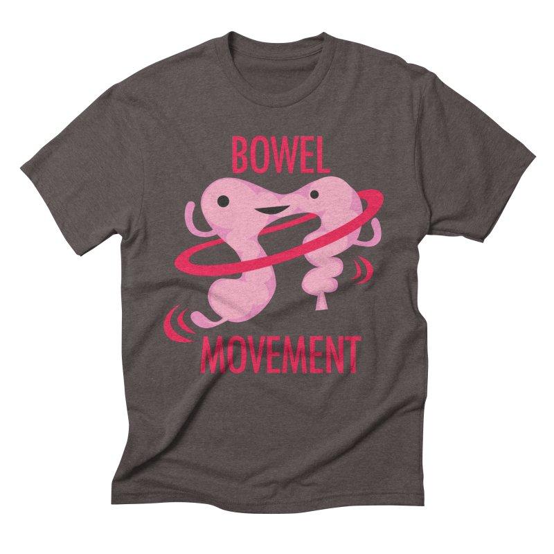 Bowel Movement Men's Triblend T-Shirt by I Heart Guts
