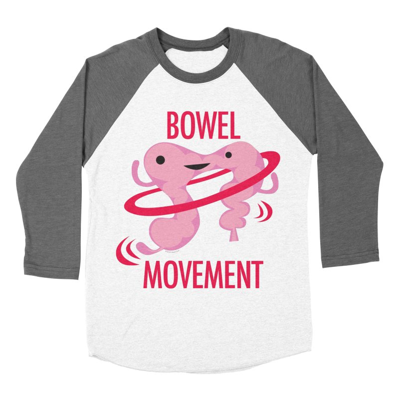 Bowel Movement Men's Baseball Triblend Longsleeve T-Shirt by I Heart Guts