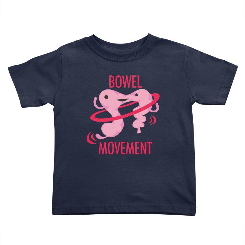 Bowel Movement Kids Toddler T-Shirt by I Heart Guts