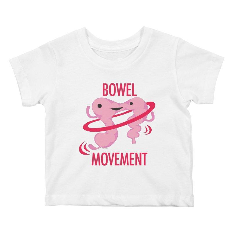 Bowel Movement Kids Baby T-Shirt by I Heart Guts