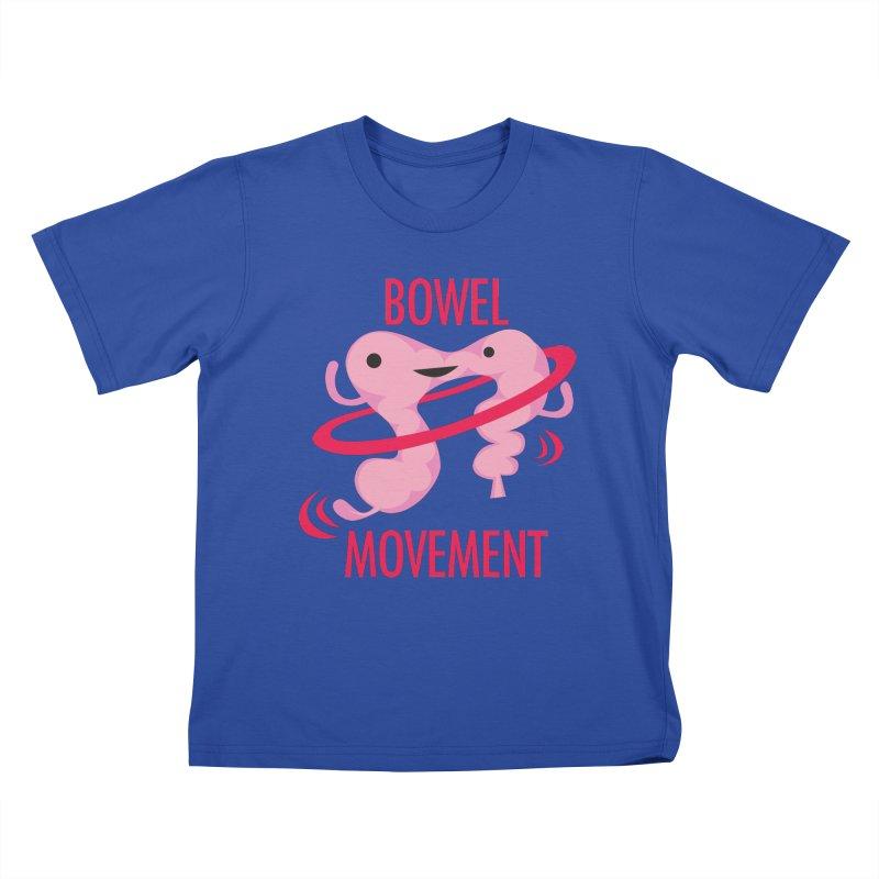 Bowel Movement Kids T-Shirt by I Heart Guts