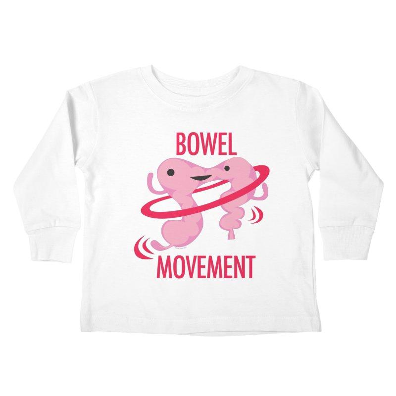 Bowel Movement Kids Toddler Longsleeve T-Shirt by I Heart Guts