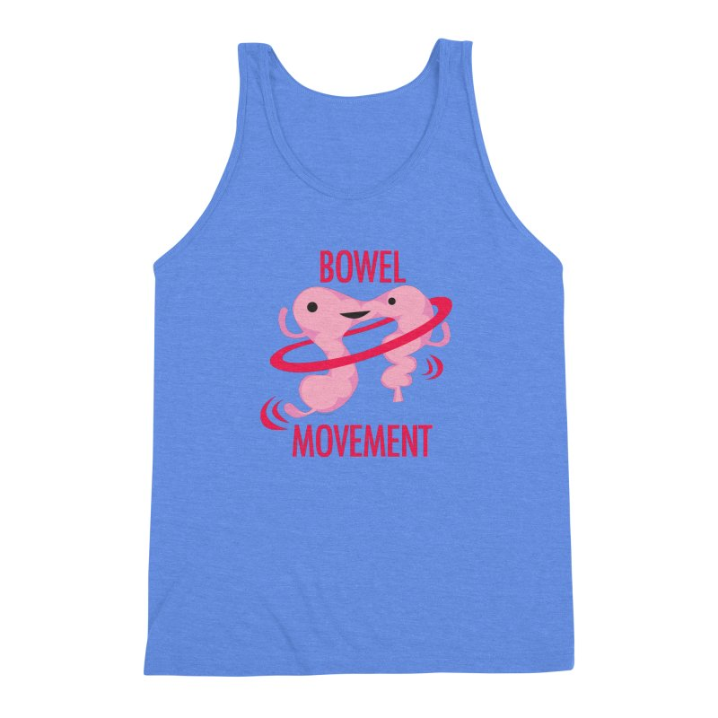Bowel Movement Men's Triblend Tank by I Heart Guts