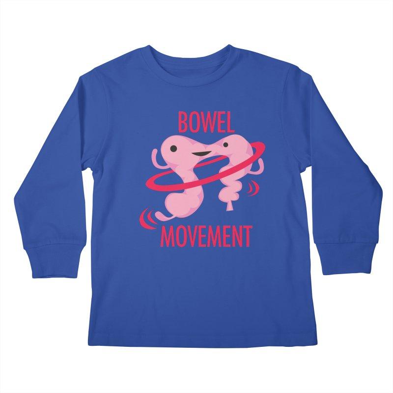 Bowel Movement Kids Longsleeve T-Shirt by I Heart Guts