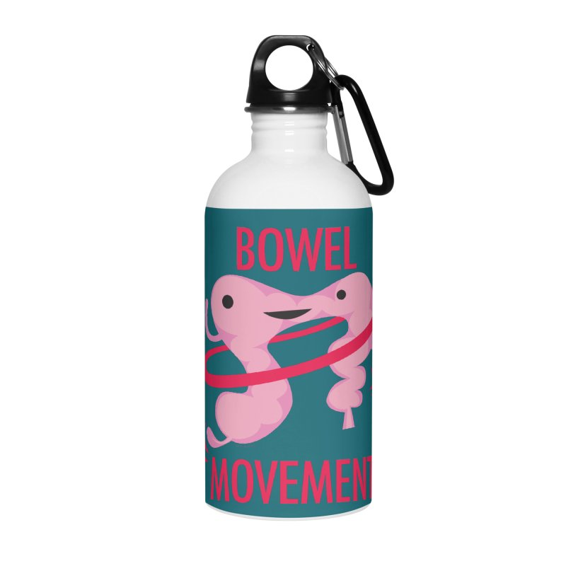 Bowel Movement Accessories Water Bottle by I Heart Guts