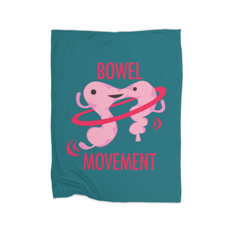 Bowel Movement Home Blanket by I Heart Guts
