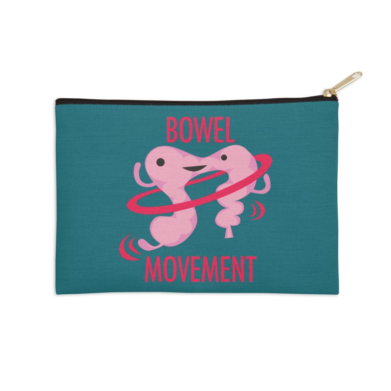Bowel Movement Accessories Zip Pouch by I Heart Guts