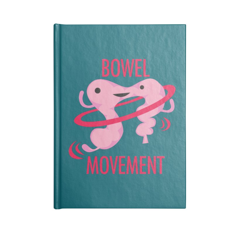 Bowel Movement Accessories Notebook by I Heart Guts