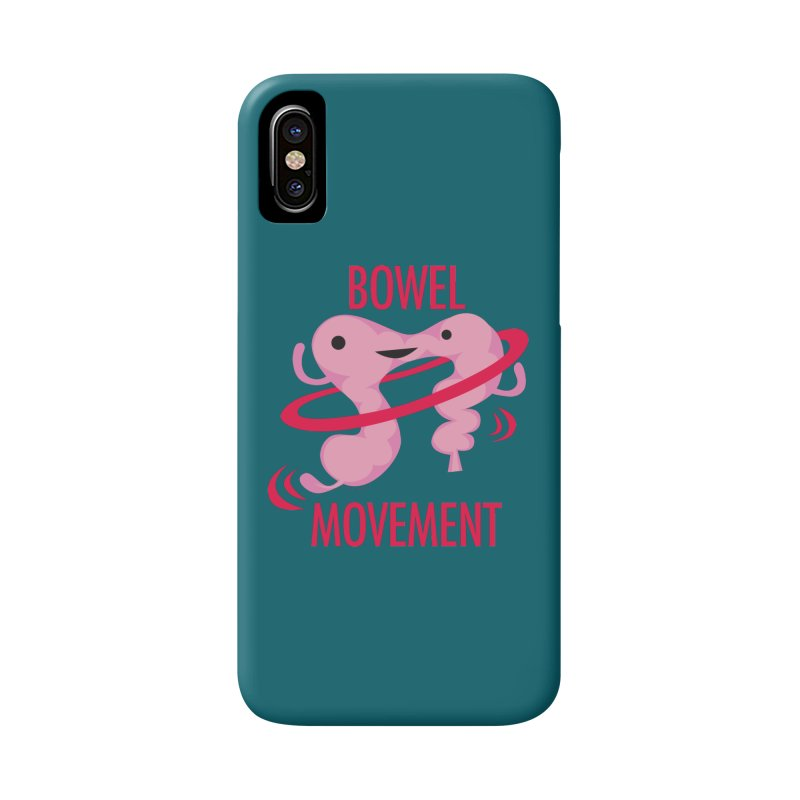 Bowel Movement Accessories Phone Case by I Heart Guts