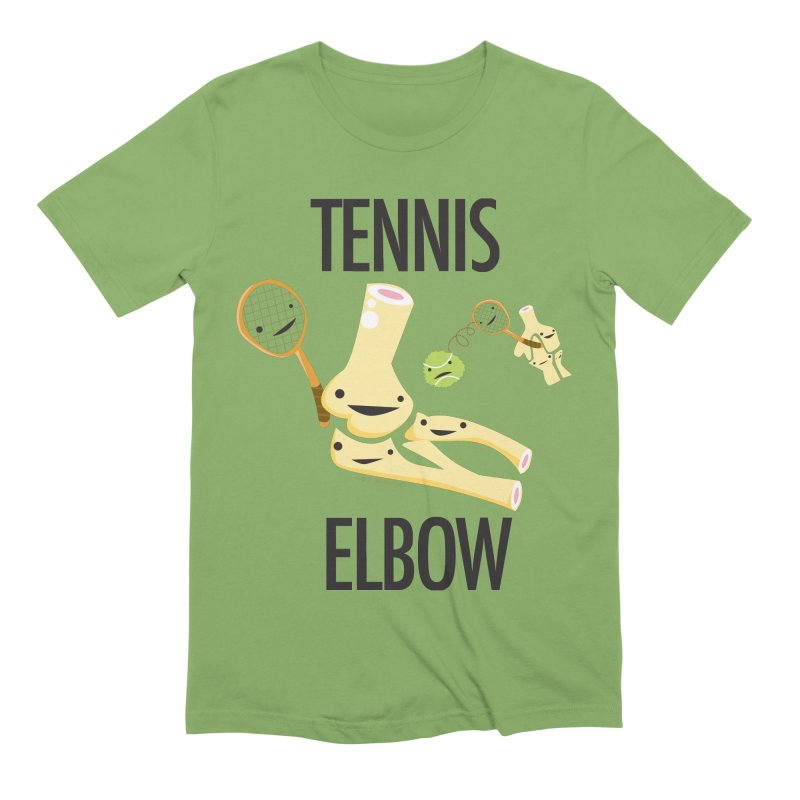 Tennis Elbow Men's Extra Soft T-Shirt by I Heart Guts