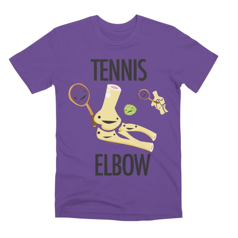 Tennis Elbow Men's Premium T-Shirt by I Heart Guts