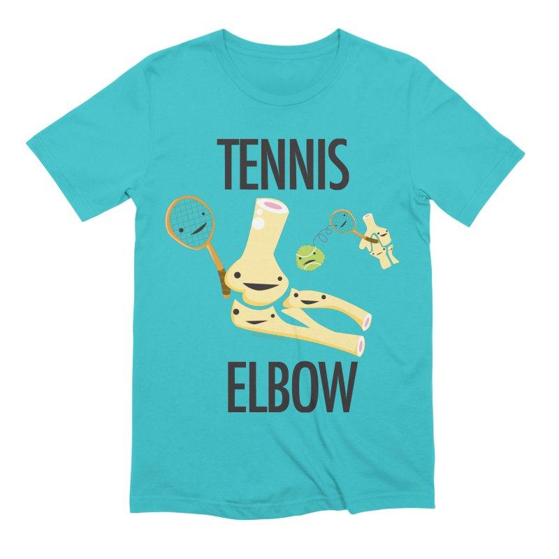 Tennis Elbow Men's Extra Soft T-Shirt by I Heart Guts