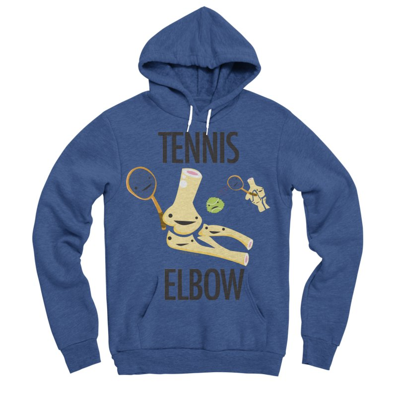 Tennis Elbow Women's Sponge Fleece Pullover Hoody by I Heart Guts