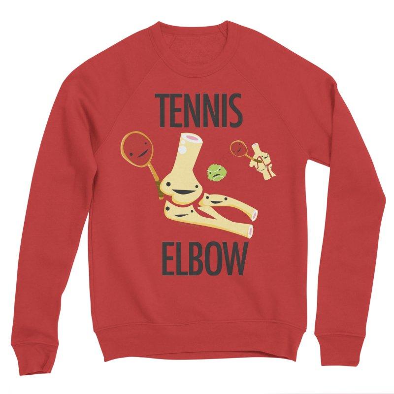 Tennis Elbow Men's Sponge Fleece Sweatshirt by I Heart Guts