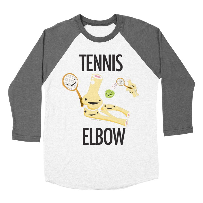 Tennis Elbow Women's Longsleeve T-Shirt by I Heart Guts