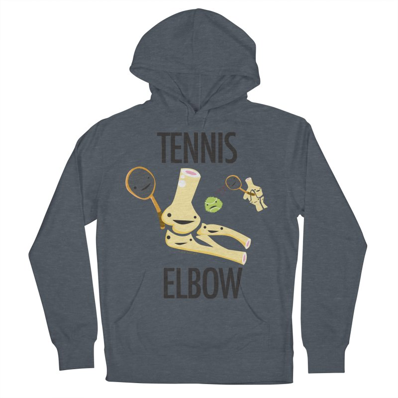 Tennis Elbow Men's French Terry Pullover Hoody by I Heart Guts