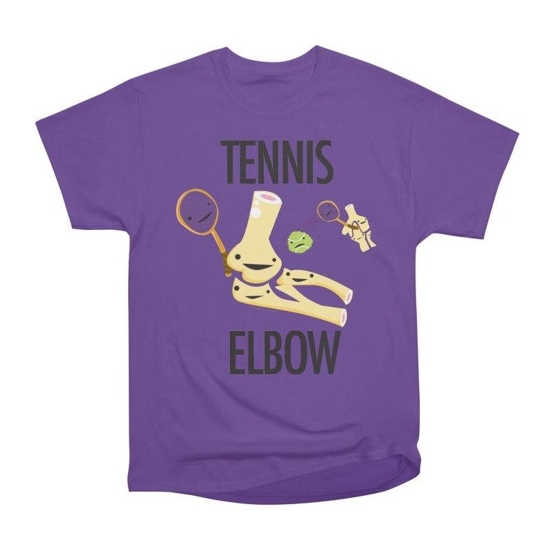 Tennis Elbow Men's Heavyweight T-Shirt by I Heart Guts
