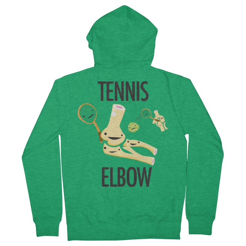 Tennis Elbow Women's French Terry Zip-Up Hoody by I Heart Guts