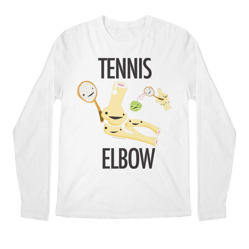 Tennis Elbow Men's Regular Longsleeve T-Shirt by I Heart Guts