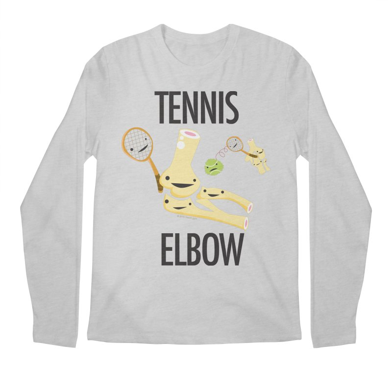 Tennis Elbow Men's Regular Longsleeve T-Shirt by I Heart Guts