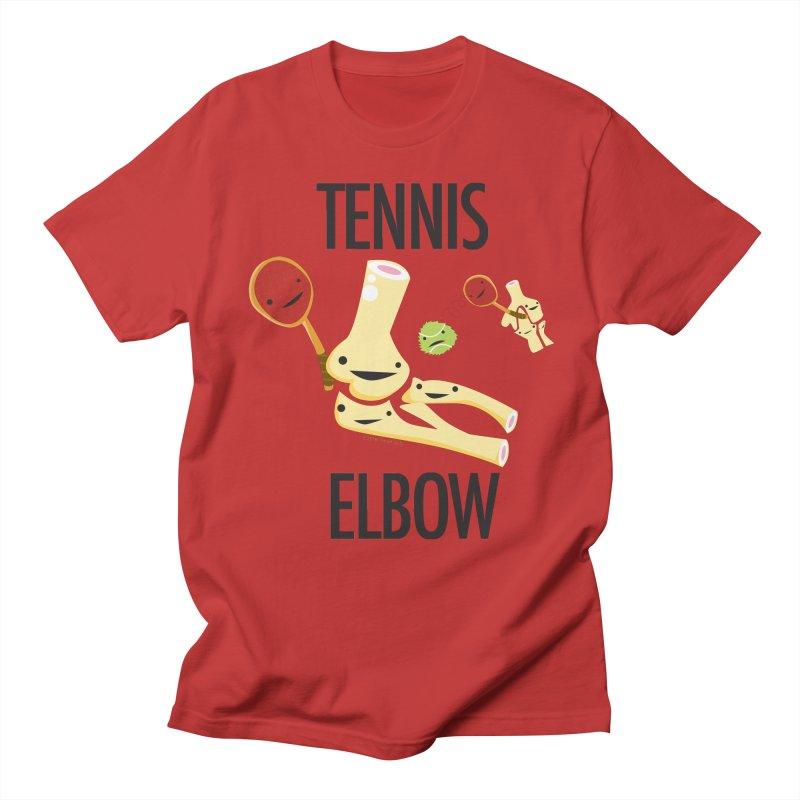 Tennis Elbow Men's Regular T-Shirt by I Heart Guts
