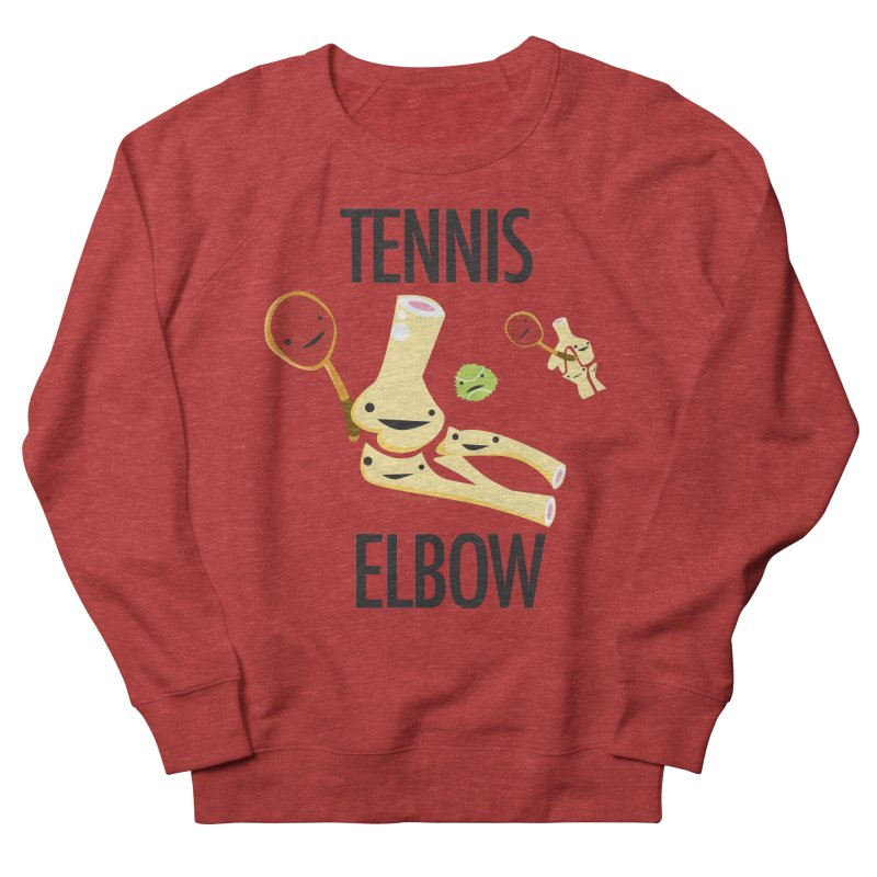 Tennis Elbow Men's French Terry Sweatshirt by I Heart Guts