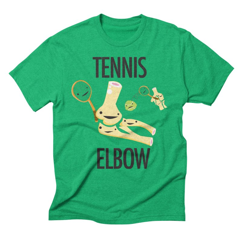 Tennis Elbow Men's Triblend T-Shirt by I Heart Guts